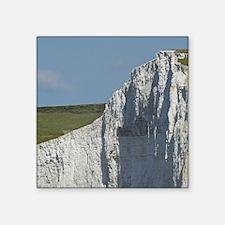 """Seven Sisters Chalk Cliffs, Square Sticker 3"""" x 3"""""""