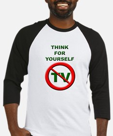 Think For Yourself Baseball Jersey
