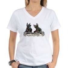 Lilac Scottish Terriers Shirt