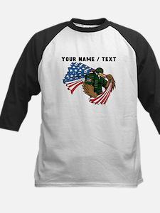 Custom American Eagle Soldier Baseball Jersey