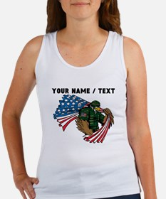 Custom American Eagle Soldier Tank Top
