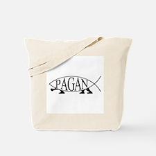 Pagan Fish Tote Bag
