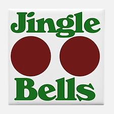 Jingle BOOBS Tile Coaster
