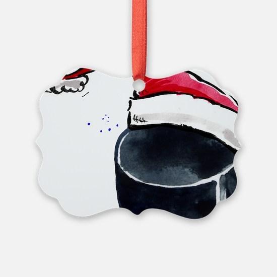 XmasHockey Ornament
