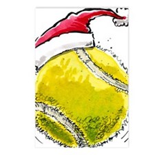 XmasTennis Postcards (Package of 8)