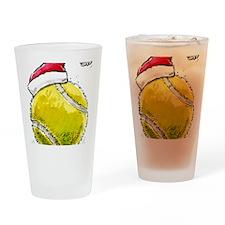 XmasTennis Drinking Glass