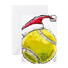 XmasTennis Greeting Card