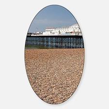 Beach chairs and Brighton Pier (c.  Decal