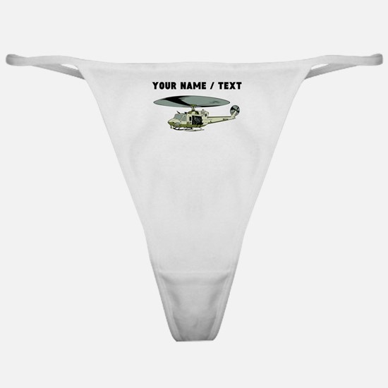 Custom Military Helicopter Classic Thong