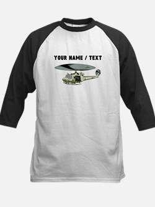Custom Military Helicopter Baseball Jersey