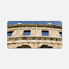 Roman amphitheater, pula, i Aluminum License Plate