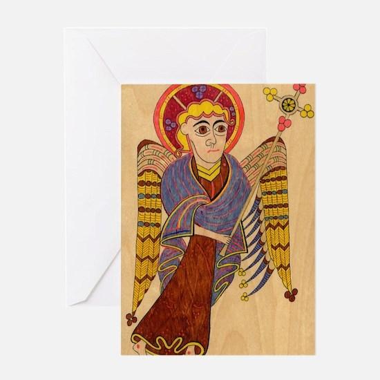 Book of Kells Greeting Cards