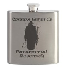 Creepy Legends Shadowman PNG Flask