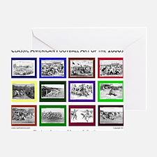 00 white Greeting Card