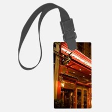 England, London. Richoux Cafe at Luggage Tag