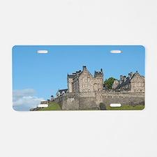 Scotland, Edinburgh. Histor Aluminum License Plate