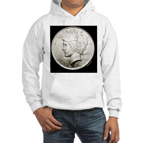 peace_dollar2 Hooded Sweatshirt