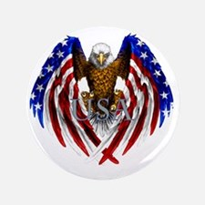 "eagle2 3.5"" Button"