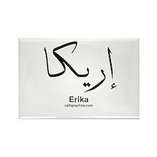 Erika Arabic Calligraphy Rectangle Magnet