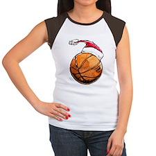 Xmasbasketball Women's Cap Sleeve T-Shirt