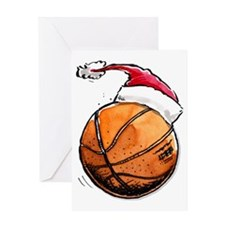 Xmasbasketball Greeting Card