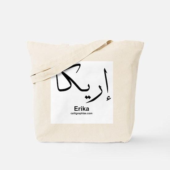 Erika Arabic Calligraphy Tote Bag
