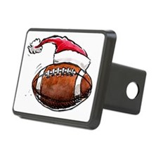 XmasFootball Hitch Cover