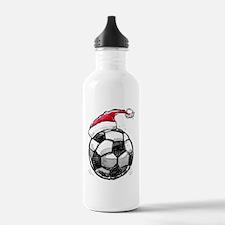 XmasSoccer Water Bottle
