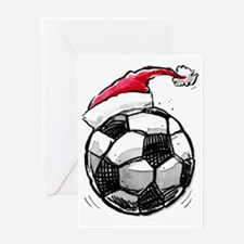 XmasSoccer Greeting Card