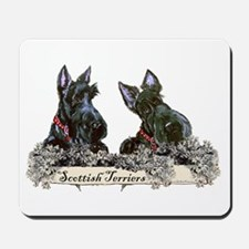 Lilac Scottish Terriers Mousepad