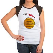 XmasWaterPolo Women's Cap Sleeve T-Shirt
