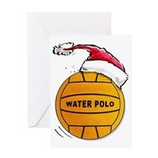 XmasWaterPolo Greeting Card