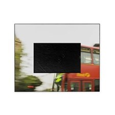 UK, London. Bayswater. Double decker Picture Frame