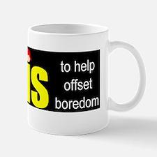 Twins offset boredom Mug
