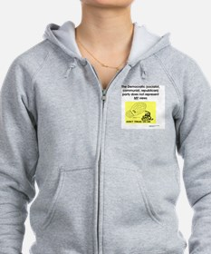Consent Revoked - NOT a Party a Zip Hoodie