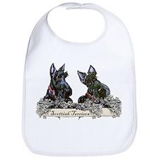 Lilac Scottish Terriers Bib