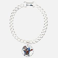 Wolf-rocker-DKT Charm Bracelet, One Charm