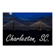 Charleston Puzzle Postcards (Package of 8)