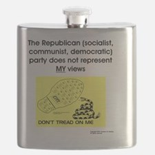 Consent Revoked - NOT a party animal (Republ Flask