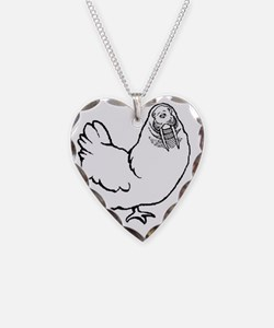 Chicken Walrus Necklace
