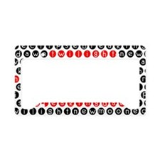 for purse License Plate Holder