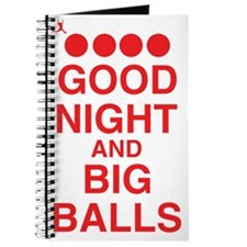 good-night-big-balls-red Journal