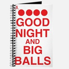 good-night-big-balls-red Journal
