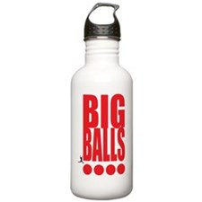 big-balls-black Stainless Water Bottle 1.0L