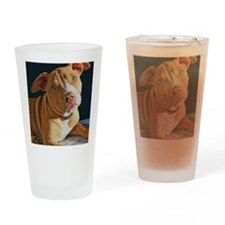 PuppyPitbullmouse Drinking Glass