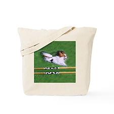 agility dog art1 Tote Bag