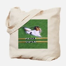 agility dog art1 Tote Bag