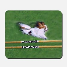agility dog art1 Mousepad