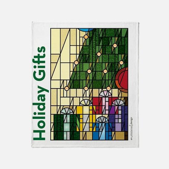 HolidayGifts10inBag Throw Blanket