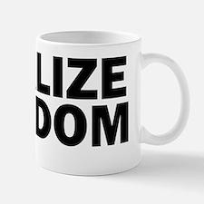 legalizefreedom10x3_stickerbumper Mug